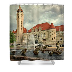 Union Station St Louis Color Dsc00422 Shower Curtain