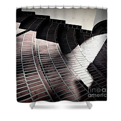 Union Steps Shower Curtain
