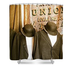 Union Vintage Clothing Shower Curtain