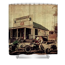 Shower Curtain featuring the photograph Unionville Genral Store by Joel Witmeyer