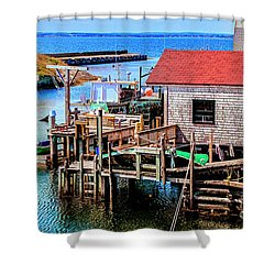 Unique Cove Shower Curtain