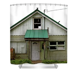 Shower Curtain featuring the photograph Unique Spaces by Brandy Little