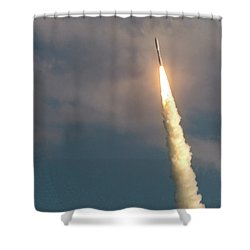 United Alliance Atlas V Shower Curtain