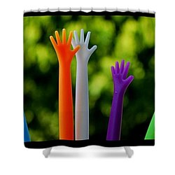Shower Curtain featuring the photograph United  Colours by Marija Djedovic