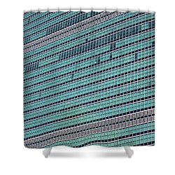 Shower Curtain featuring the photograph United Nations 2 by Randall Weidner