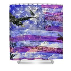 United States Armed Forces One Shower Curtain