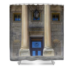 United States Capitol - House Of Representatives  Shower Curtain