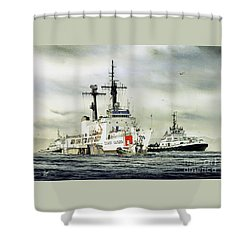 United States Coast Guard Boutwell Shower Curtain