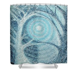 Shower Curtain featuring the painting Unity by Holly Carmichael
