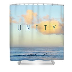 Unity. Shower Curtain