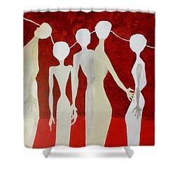 Universal Mind Shower Curtain