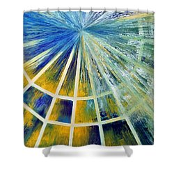 Universe Shower Curtain by Upasana Kedia