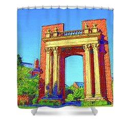 University Of Illinois  Shower Curtain