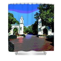 University Of Indiana Shower Curtain