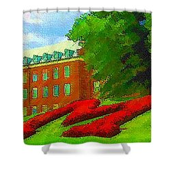 University Of Maryland  Shower Curtain