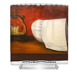 University Of Minnesota School Of Nursing Shower Curtain by Marlyn Boyd