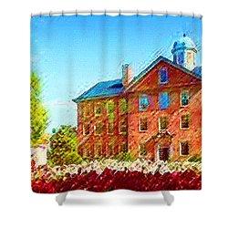 University Of North Carolina  Shower Curtain