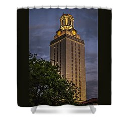 University Of Texas Tower Shower Curtain
