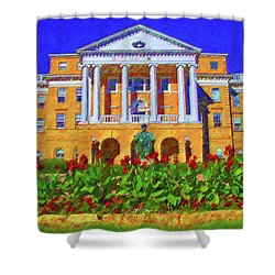 University Of Wisconsin  Shower Curtain
