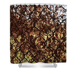 Unknown Denied Shower Curtain