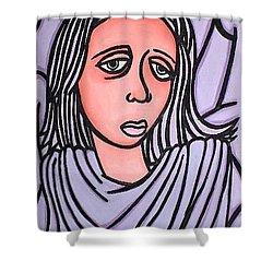 Unknown Shower Curtain by Thomas Valentine