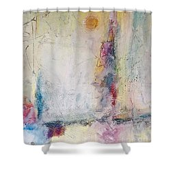 Sherbert Tales Shower Curtain by Gallery Messina