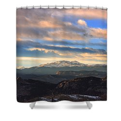 The Unmatched Beauty Of The Colorado Rockies Shower Curtain