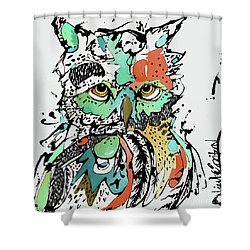 Unphased Shower Curtain