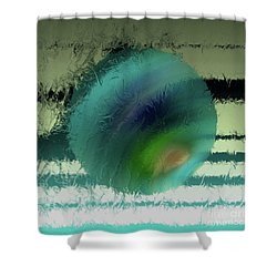 Unraveled 2 Shower Curtain