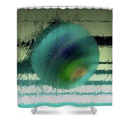 Unraveled 2 Shower Curtain by John Krakora