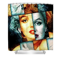 Monroe  Shower Curtain by Gary Bodnar