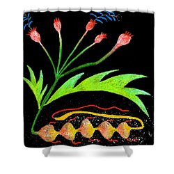 Unreal Shower Curtain by R Kyllo