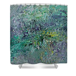 Blind Giverny Shower Curtain