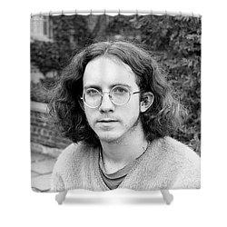 Unshaven Photographer, 1972 Shower Curtain