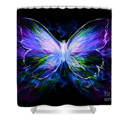 Unspoken Beauty  Shower Curtain