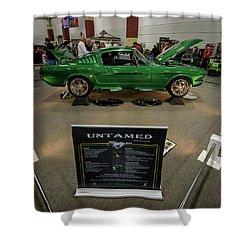 Shower Curtain featuring the photograph Untamed by Randy Scherkenbach