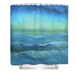 Until The Last Moment Shower Curtain