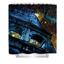 Until The Last Star Falls Shower Curtain by Aurelio Zucco