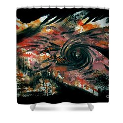 Untitled-101 Shower Curtain
