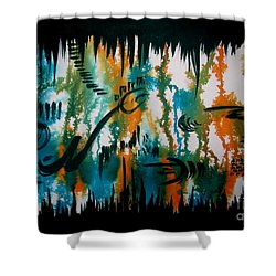 Untitled-103 Shower Curtain