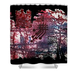 Untitled-105 Shower Curtain