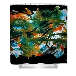 Untitled-106 Shower Curtain