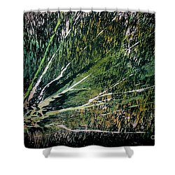 Untitled-107 Shower Curtain