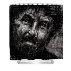 Untitled - 10feb2017 Shower Curtain by Jim Vance
