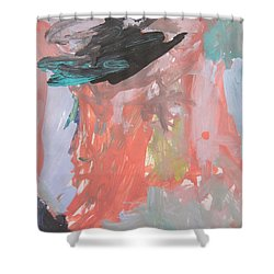 Untitled #11  Original Painting Shower Curtain