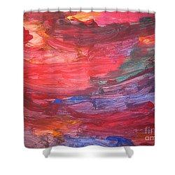 untitled 110 Original Painting Shower Curtain