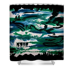 Untitled-111 Shower Curtain