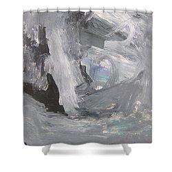 Untitled 124 Original Painting Shower Curtain