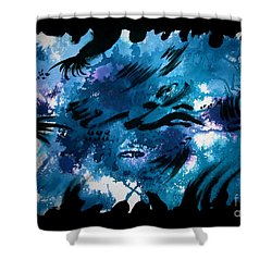 Untitled-132 Shower Curtain