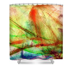 Untitled #140922, From The Soul Searching Series Shower Curtain